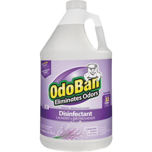 OdoBan 1 Gal. Lavender Washable Surface Sanitizer & Deodorizer Concentrate