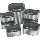 Home Impressions 7-Piece Laundry & Storage Basket Set Image 1