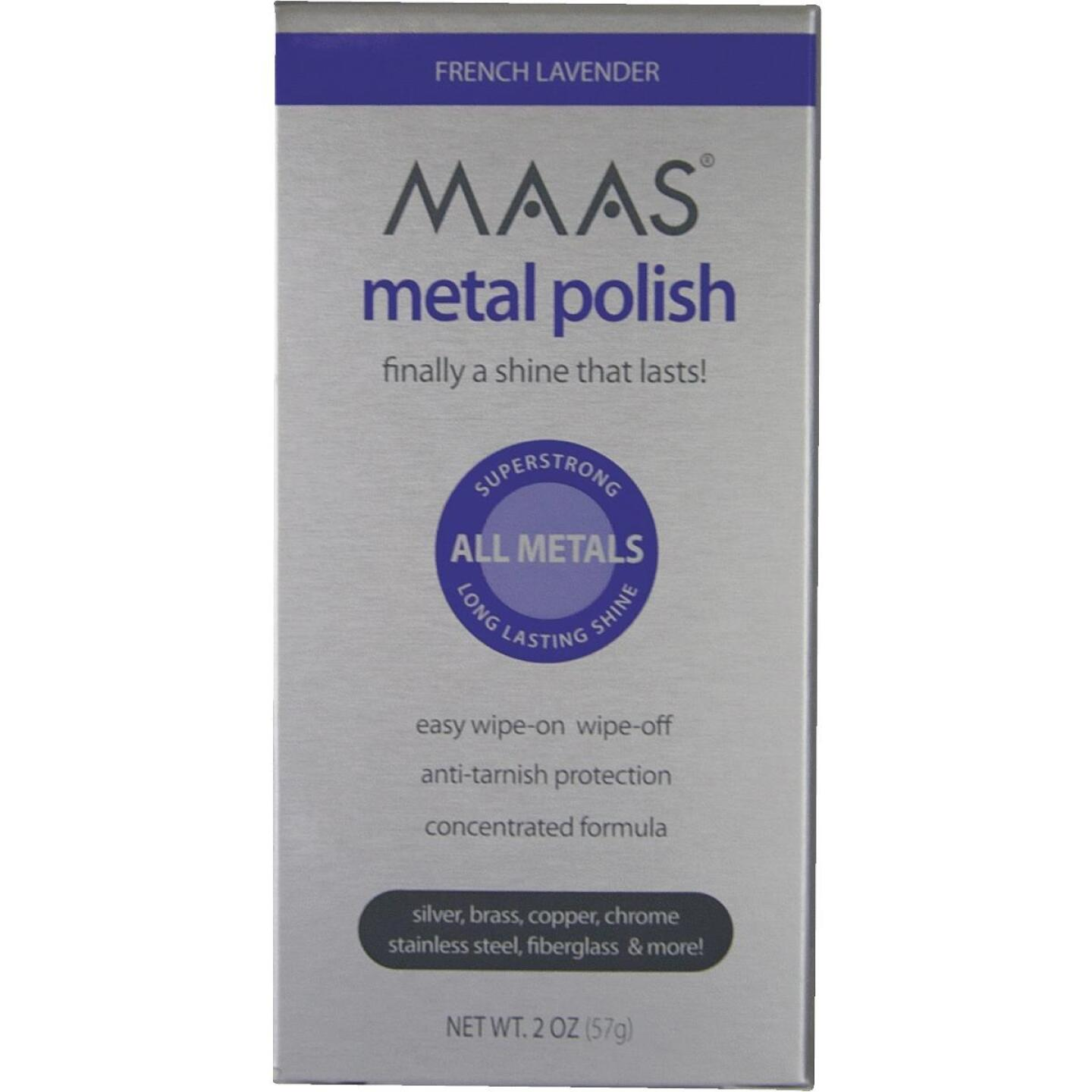 Maas 2 Oz. Polishing Creme For All Metals Image 2