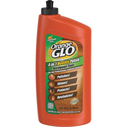 Orange Glo 32 Oz. 4-In-1 Hardwood Floor Polish