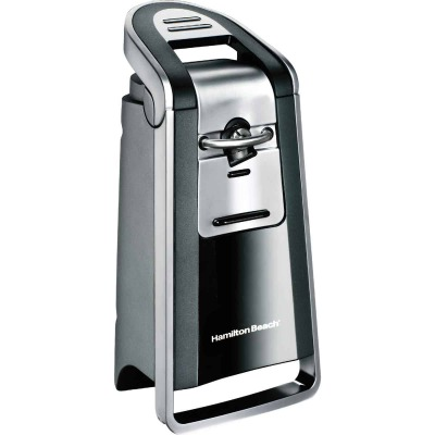 Hamilton Beach Smooth Touch Chrome Electric Can Opener