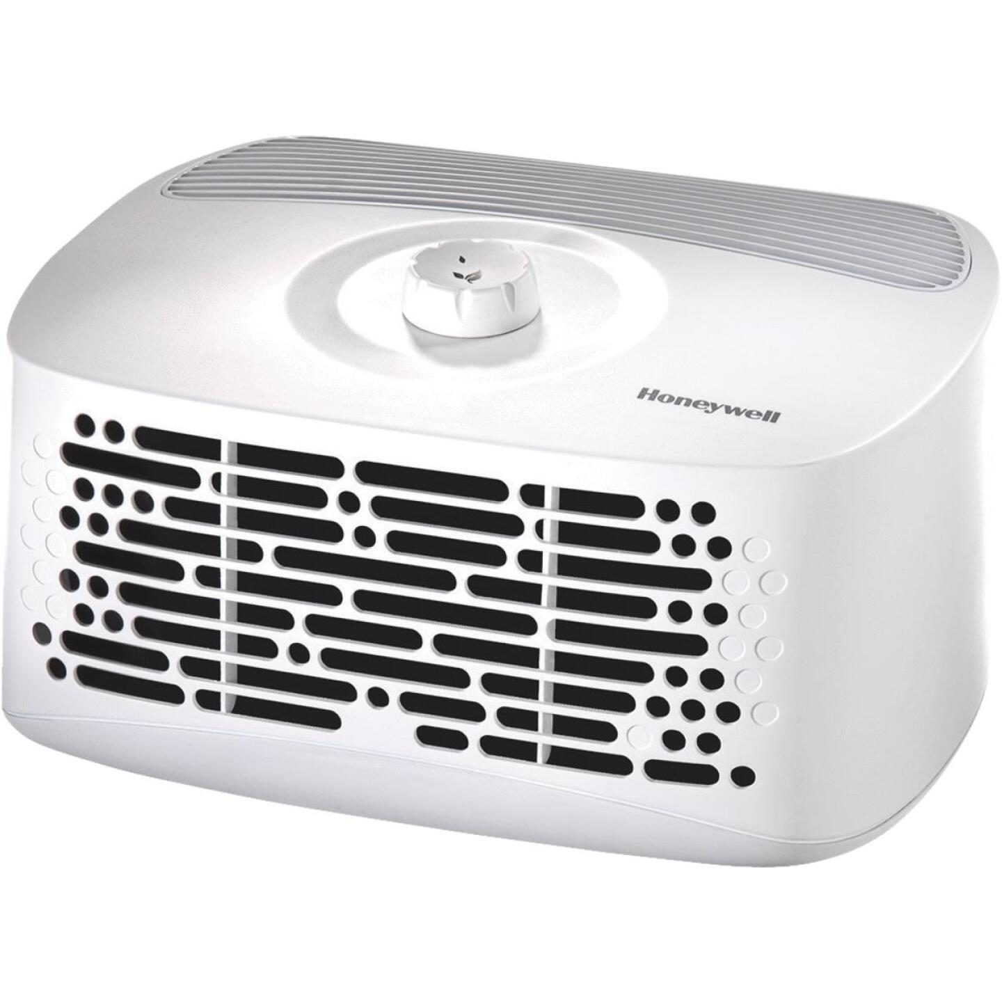Honeywell HEPAClean 110 Sq. Ft. White Tabletop Air Purifier Image 1