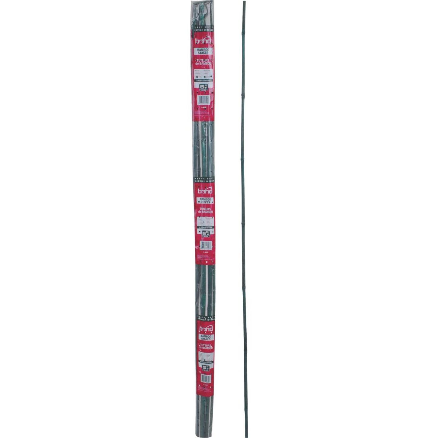 Bond 6 Ft. Green Bamboo Plant Stakes (6-Pack) Image 5
