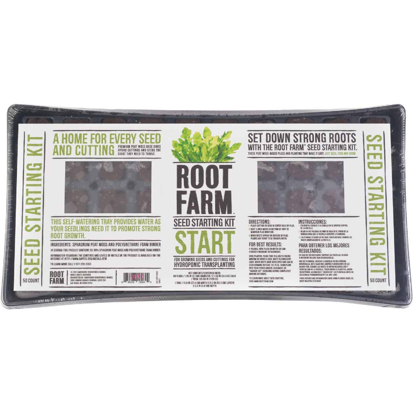 Root Farm 50-Cell Hydroponic Starter Kit Image 3