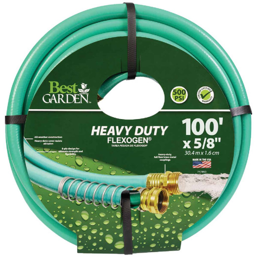 Best Garden Flexogen 5/8 In. Dia. x 100 Ft. L. Garden Hose