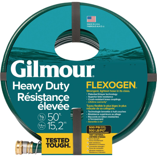 Best Garden Flexogen 5/8 In. Dia. x 50 Ft. L. Garden Hose