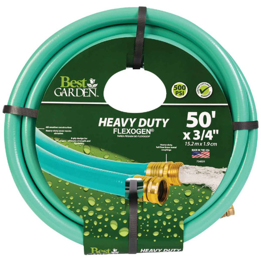 Best Garden Flexogen 3/4 In. Dia. x 50 Ft. L. Garden Hose