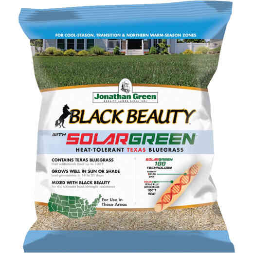 Jonathan Green Black Beauty 3 Lb. Texas Bluegrass Seed with Solargreen