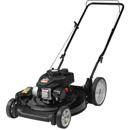 Yard Machines 21 In. 132cc OHV Powermore High Wheel Push Gas Lawn Mower