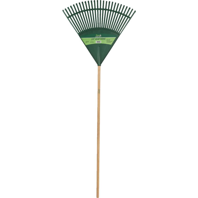 Best Garden 24 In. Poly Leaf Rake (26-Tine) Image 2