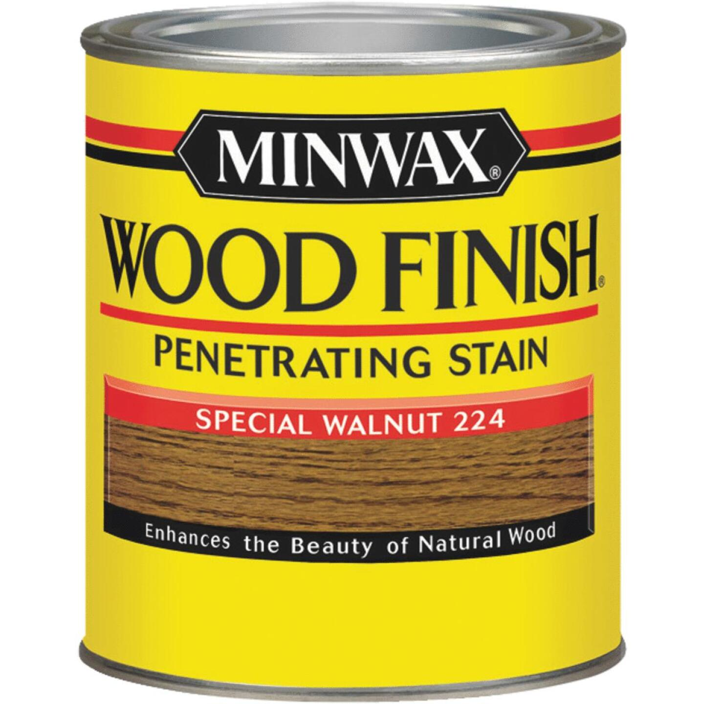 Minwax Wood Finish Penetrating Stain, Special Walnut, 1/2 Pt. Image 1