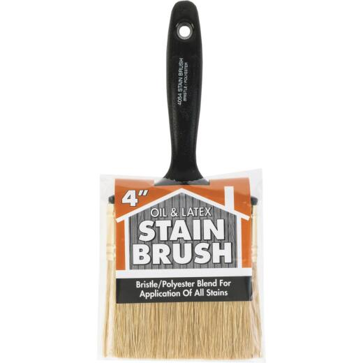 Wooster 4 In. Oil & Latex Stain Brush