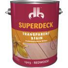 Duckback SUPERDECK VOC Transparent Exterior Stain, Redwood, 1 Gal. Image 1