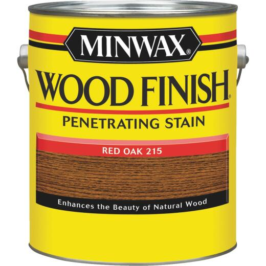 Minwax Wood Finish Penetrating Stain, Red Oak, 1 Gal.