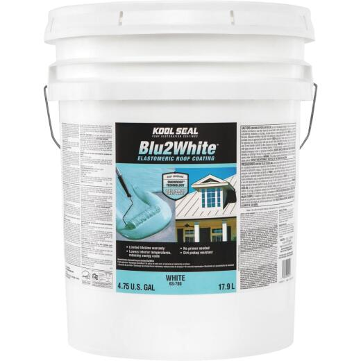 Kool Seal Blu2White 5 Gal. Acrylic Elastomeric Roof Coating