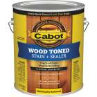 Cabot Alkyd/Oil Base Wood Toned Deck & Siding Stain, Pacific Redwood, 1 Gal. Image 1
