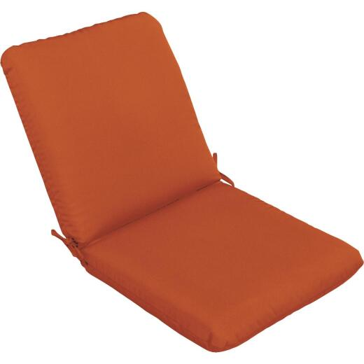 Casual Cushion 23 In. W. x 3.5 In. H. x 44 In. L. Pottery Chair Cushion