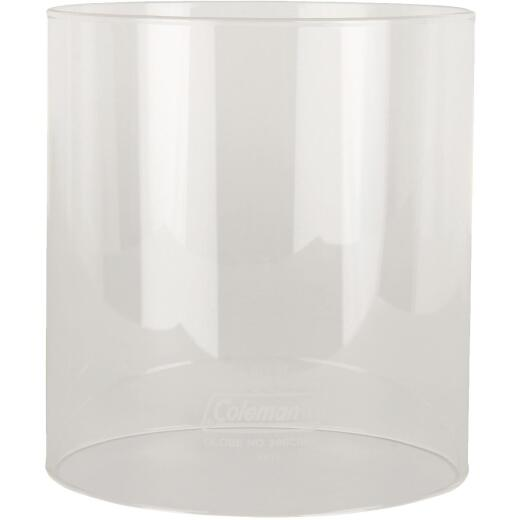 Coleman 5-1/4 In. H. x 4-7/8 In. Dia. Clear Straight Lantern Globe
