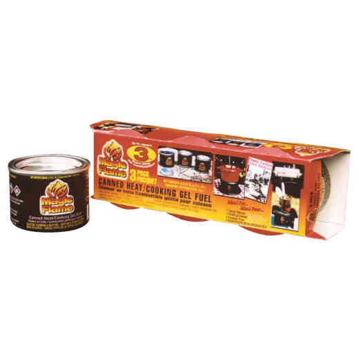 Scientific Utility Magic Flame 2.6 Oz. Canned Cooking Fuel (3-Pack)