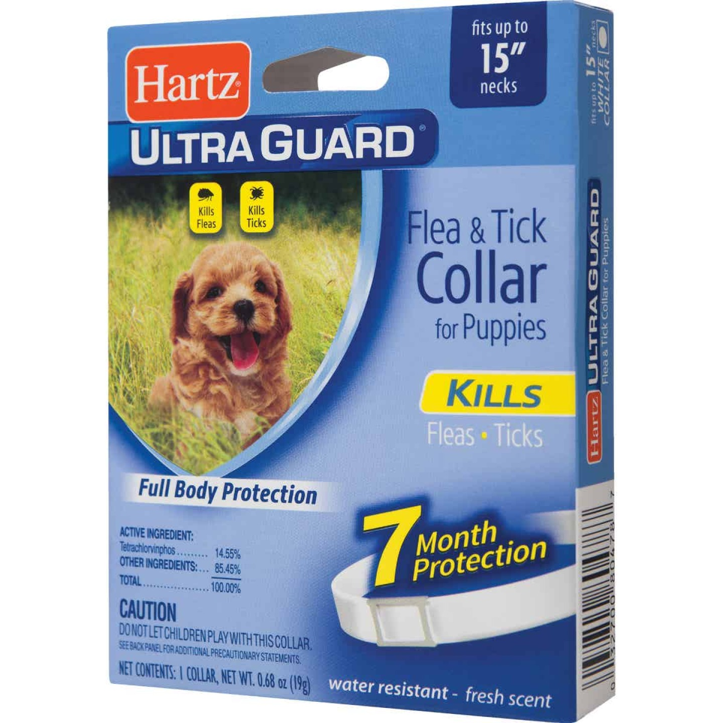 Hartz UltraGuard Water Resistant Flea & Tick Collar For Puppies Image 1