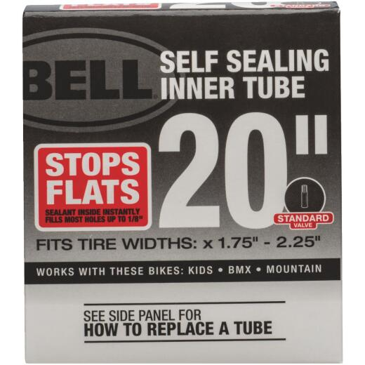 Bell Sports 20 In. Self-Sealing Bicycle Tube