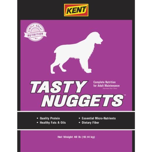 Kent Tasty Nuggets 40 Lb. Adult Dry Dog Food