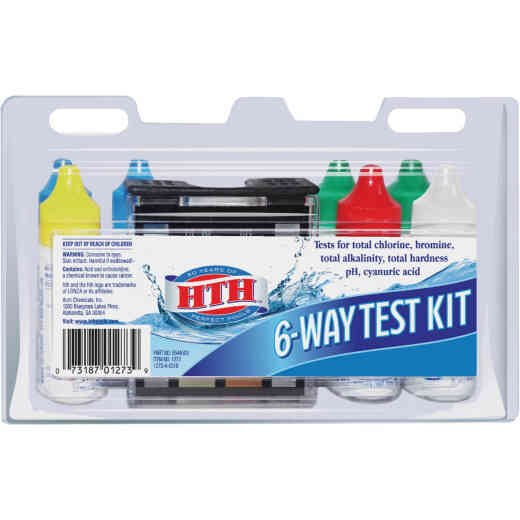 HTH 6-Way Chemical Test Kit