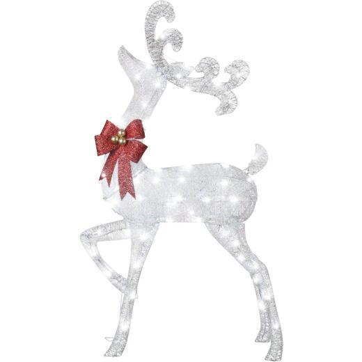 Gemmy 50.39 In. LED Illuminated Buck Holiday Figure