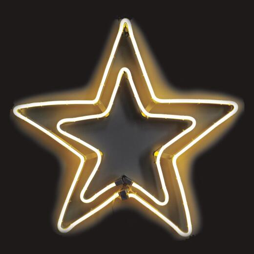 J Hofert 24 In. Neon LED Lighted Star