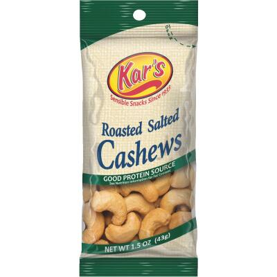 Kar's 1.5 Oz. Salted Cashew Nuts