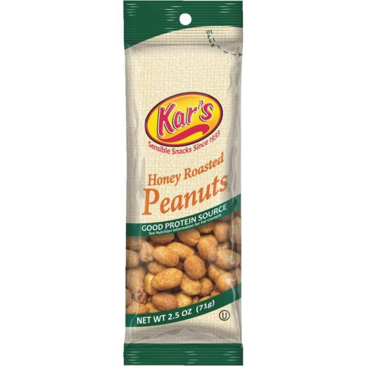 Kar's 2.5 Oz. Honey Roasted Peanuts