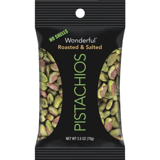 Wonderful 2.5 Oz. Roasted Shelled Pistachios